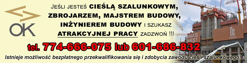 OK Polska praca ogłoszenie