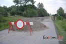 Zamknięty most w Stróżnej