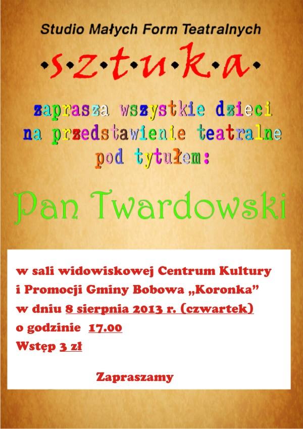 plakat Pan Twardowski