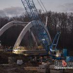 Jankowa: finisz budowy mostu na rzece Biała. Wykonawcy Godrom oraz IMB Podbeskidzie