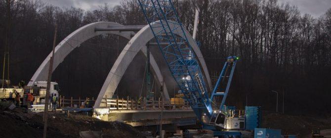 Budowa mostu w Jankowej na finiszu! (TV)