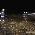 Stróżna: pożar traw [09.04.2018 godz 20]