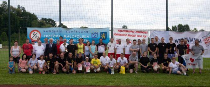 Bobowa: siedem drużyn Honorowych Dawców Krwi rywalizowało w spartakiadzie