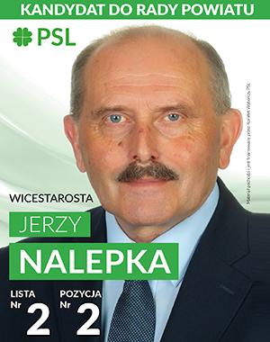 Jerzy Nalepka kandydat do Rady Powiatu Gorlickiego